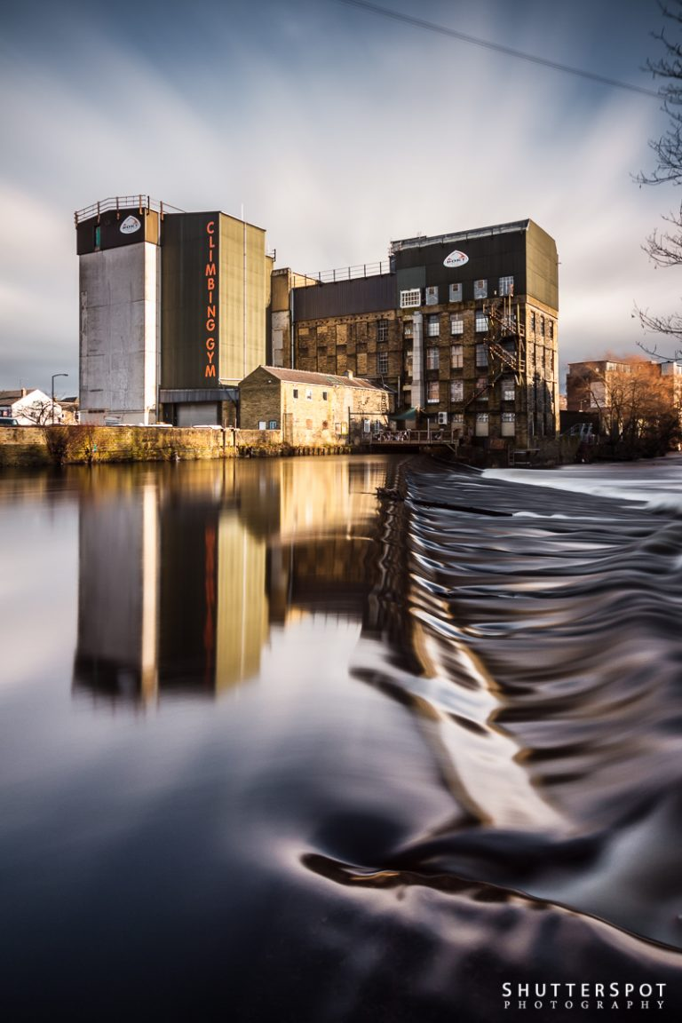 Shutterspots No. 6: Brighouse Weir and Sugden's Mill