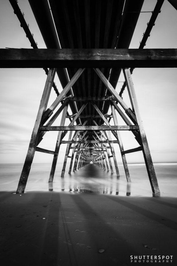 Steetley Pier Abstract