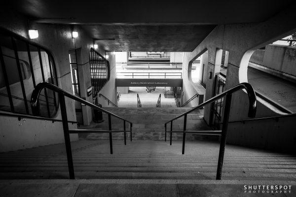Leeds University Stairwell