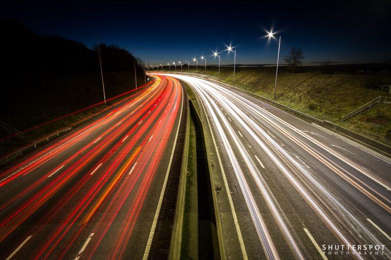 Shutterspots No. 3: M62 Motorway Trails