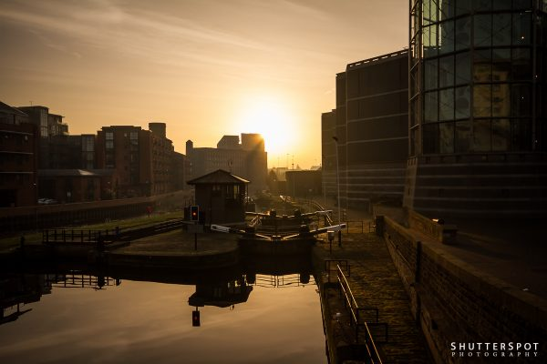 Sunrise over Aire Canal II