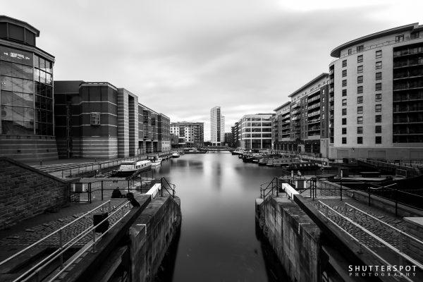 Leeds Dock Evening