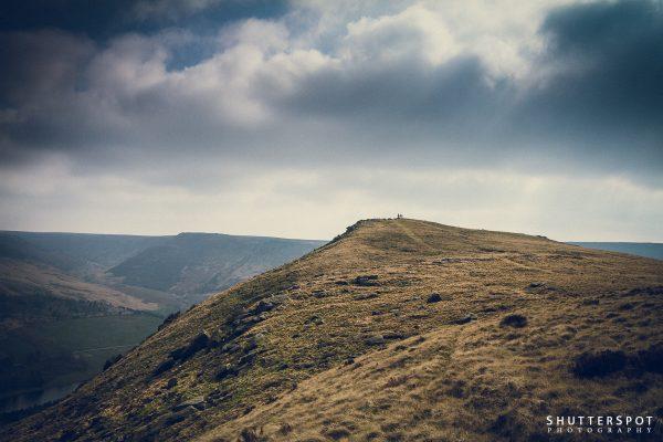 Walkers on Alderman's Hill