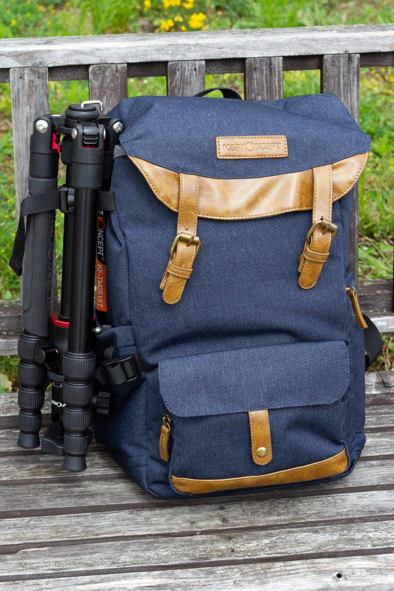 K&F Concept Fashion DSLR Camera Travel Backpack Review