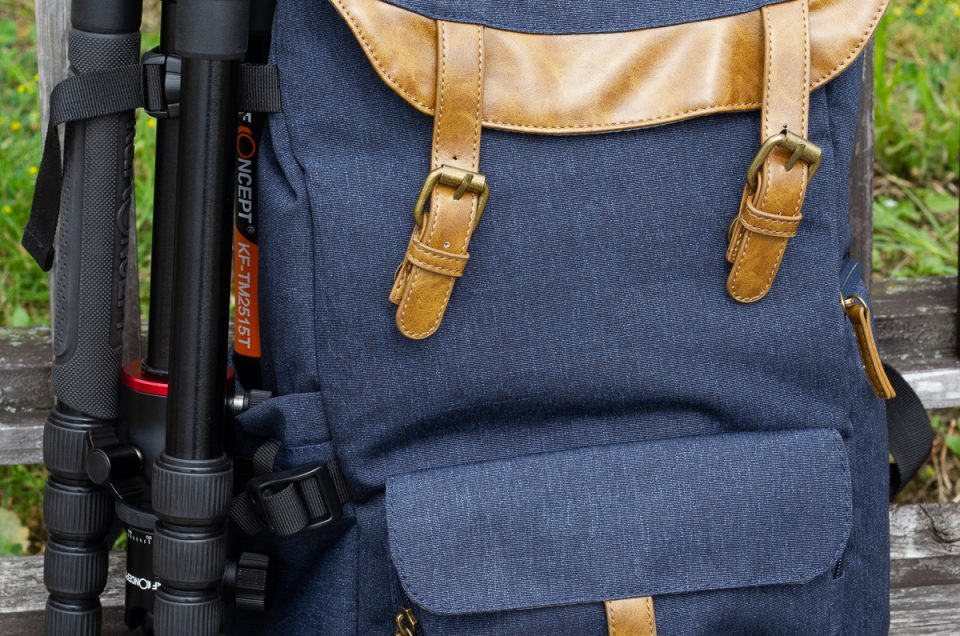 K&F Concept Fashion DSLR Camera Travel Backpack Review